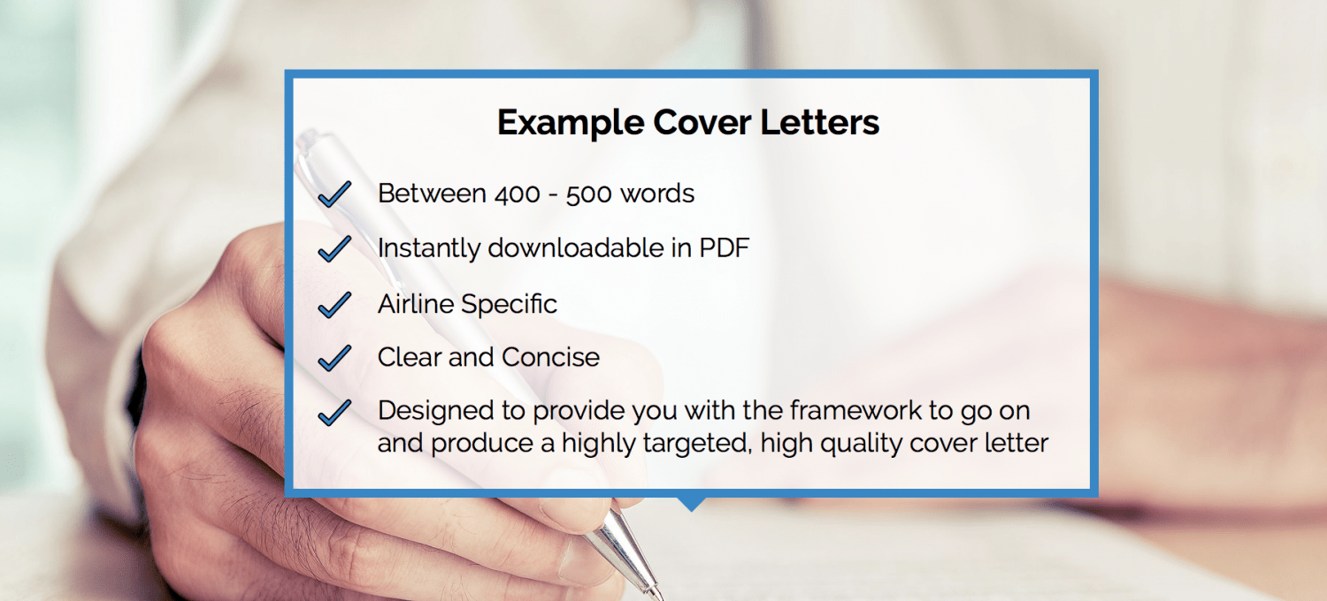 Example Cover Letters For Airline Pilots  FlightdeckfriendCom