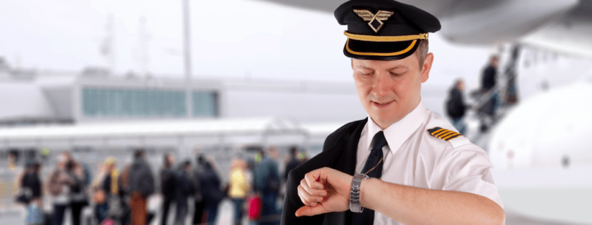 a typical airline pilot roster and schedule