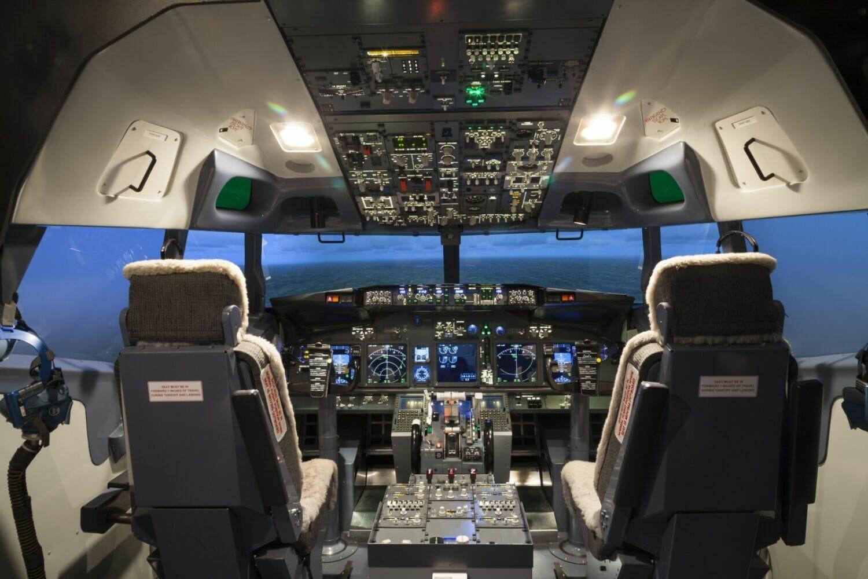 Cockpit Of Plane In Flight Simulator Flightdeckfriend Com