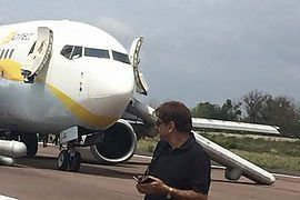 Pilot of Jet Airways runway excursion writes strong letter to the public and media