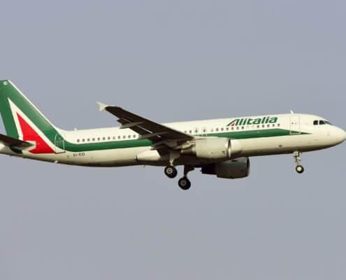Alitalia A320 Aircraft