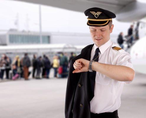 Passengers and pilot
