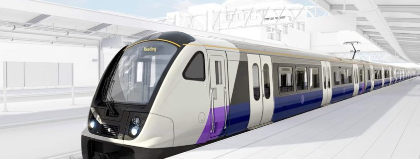 Artists impression of Crossrail train