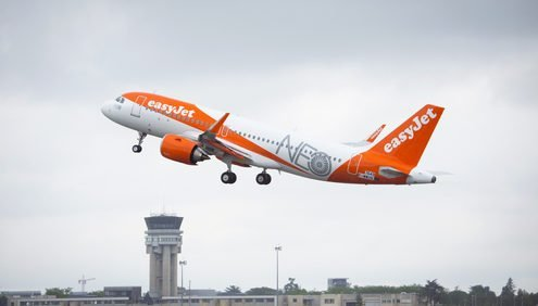 easyJet A320neo First Delivery