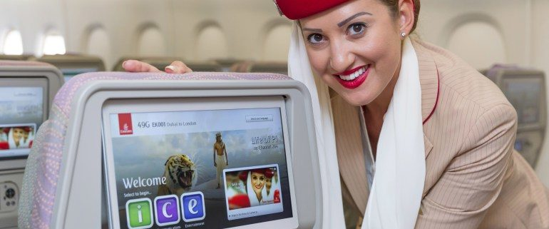 Emirates introducing info goggles for their cabin crew
