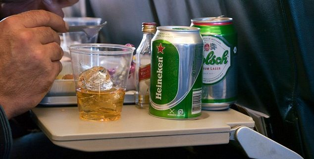 Drunk air passenger arrests up 50 per cent in the UK