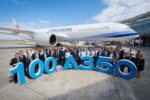 Airbus delivers 100th A350 to China Airlines