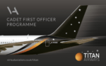 Titan have launched their Cadet Pilot Program through Virtual Aviation