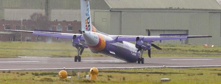 Flybe incident at Belfast International Airport