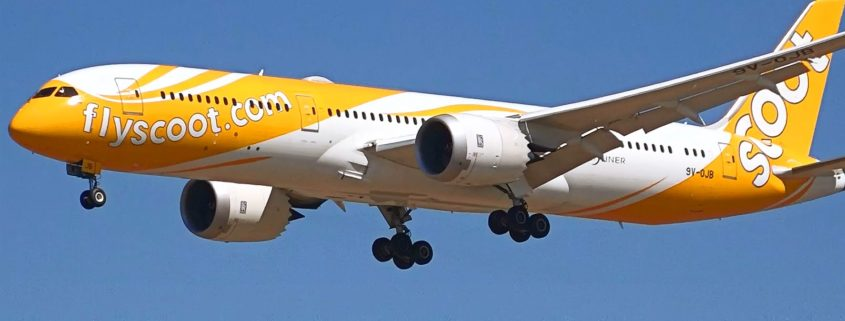 Scoot non-rated Junior First Officers (A320) and Second First Officers (B787)
