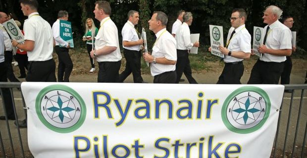 Ryanair hopes for end to strikes after reaching deal with Irish pilots' union