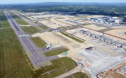 Gatwick unveils £½bn plan to move runway 12metres