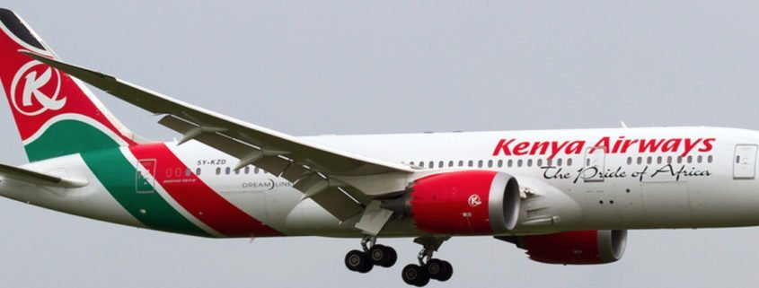 Kenya Airways Non-Rated First Officers