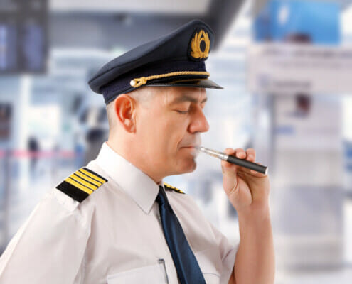 A look at why you aren't allowed to vape on a passenger plane