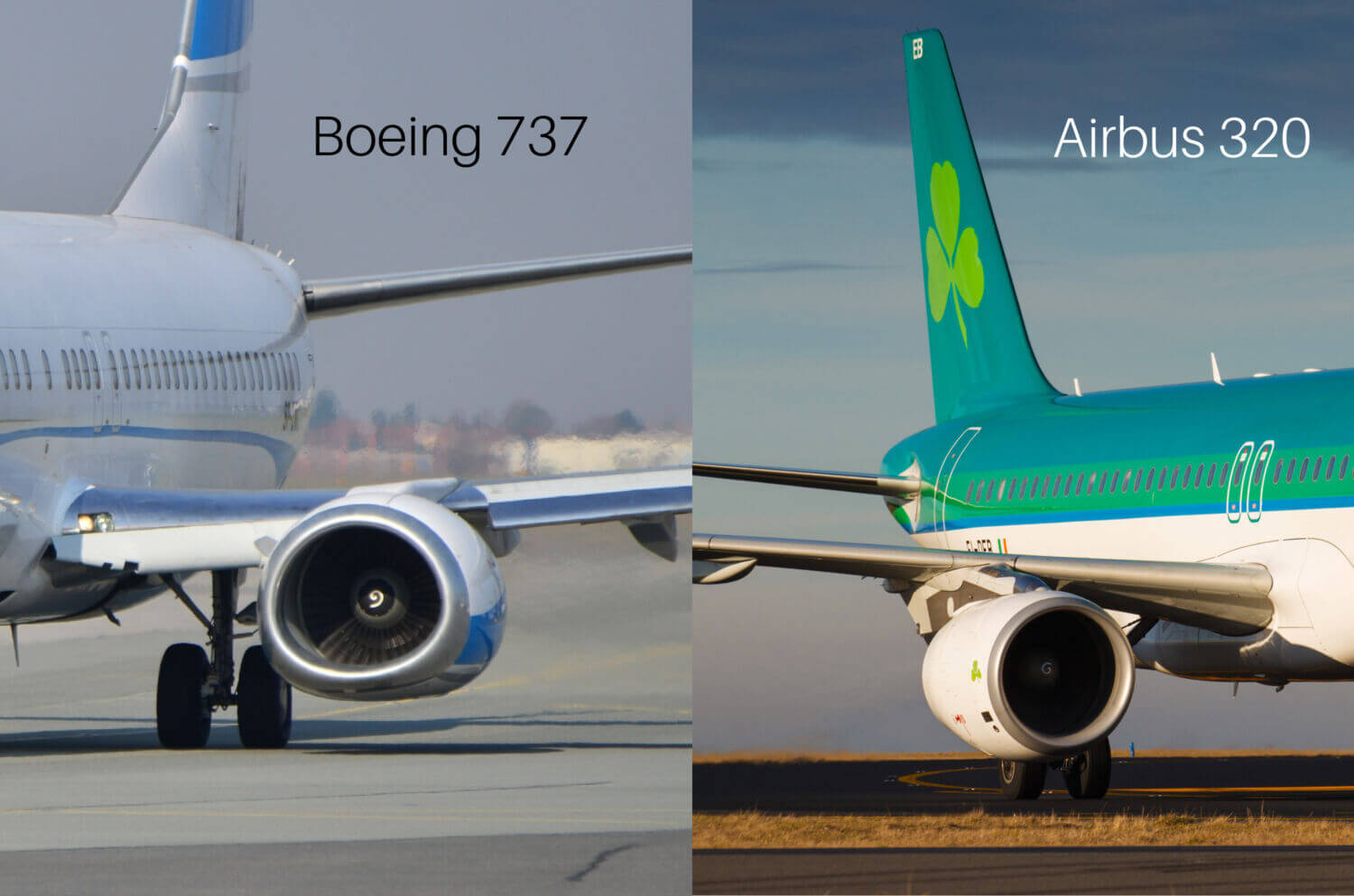 The differences between a Boeing and Airbus flight deck